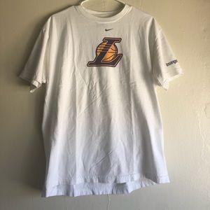 Lakers Center Swoosh Tshirt
